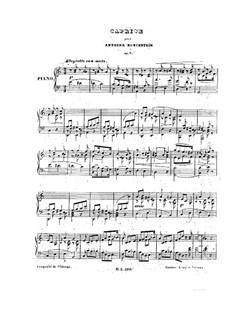 Impromptu-Caprice in A Minor, Op.7: Impromptu-Caprice in A Minor by Anton Rubinstein