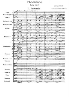 Suite II: Partitura completa by Georges Bizet