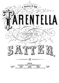 Tarantella: Tarantella by Gustave Satter