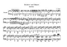 Overture to 'Poet and Peasant': para piano de quadro mãos by Franz von Suppé