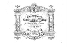 Grand Polonaise, J.59 Op.21: para piano de quadro mãos by Carl Maria von Weber