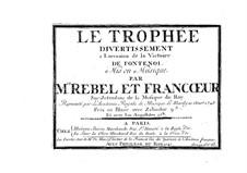 Zélindor roi des Silphes: partitura completa by François Francoeur, François Rebel