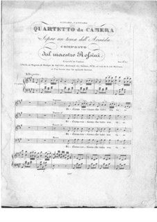 Ridiamo, cantiamo, che tutto sen va: Ridiamo, cantiamo, che tutto sen va by Gioacchino Rossini