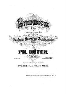 Symphony in F Major, Op.23: movimento I by Philipp Rüfer