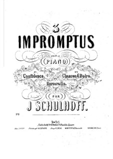 Confidence, Op.8: Confidence by Julius Schulhoff