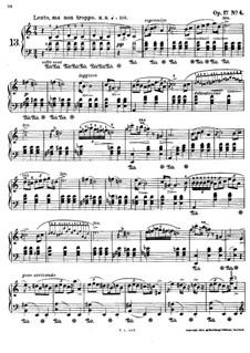 Mazurkas, Op.17: No.4 in A Minor by Frédéric Chopin