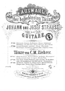 Selection of the most popular dances by Johann Strauss: Book 9 by Josef Strauss