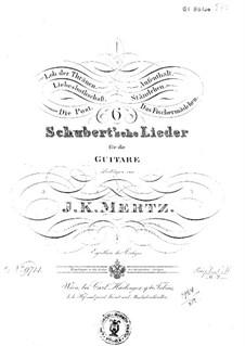 Six Schubert's Tracks: Six Pieces by Franz Schubert