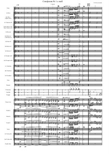 Simphony No.1, Op.90: Partitura completa by btheband