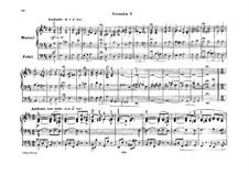 Sonatas for Organ, Op.65: Sonata No.5 by Felix Mendelssohn-Bartholdy