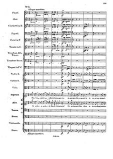 Musik zu Athalia (Music to Athalie), Op.74: No.5 Choir 'So geht, ihr Kinder Aarons' by Felix Mendelssohn-Bartholdy