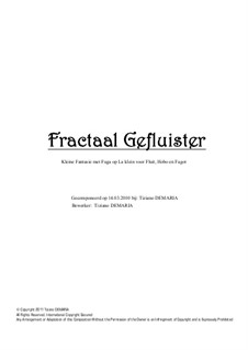 Fractaal Gefluister: Fractaal Gefluister by Tormy Van Cool