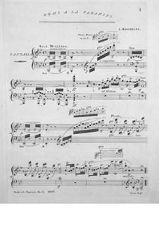 Fantaisie à la Paganini: movimento I by Ignaz Moscheles