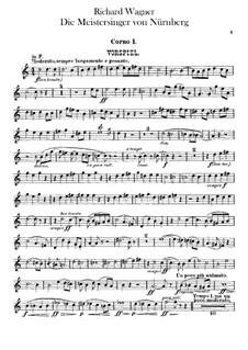 Complete Opera: trompa parte I-II by Richard Wagner