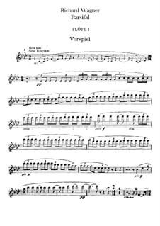 Complete Opera: parte de flautas by Richard Wagner