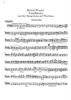 Complete Opera: parte fagotes by Richard Wagner