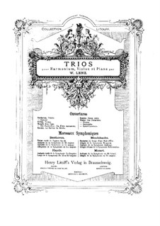 Jubilee Overture, J.245 Op.59: For harmonium, violin and piano by Carl Maria von Weber