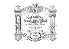 Invitation to the Dance, J.260 Op.65: para piano de quadro mãos by Carl Maria von Weber
