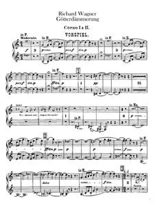 Twilight of the Gods, WWV 86d: Horns I, II part by Richard Wagner