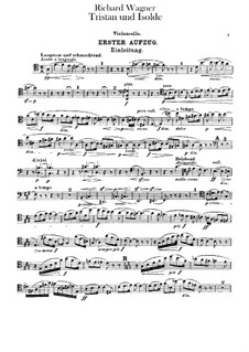 Complete Opera: Parte Violoncelo by Richard Wagner