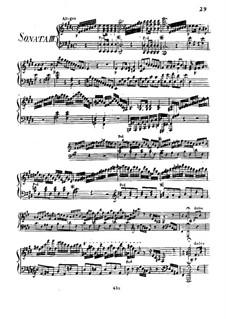 Three Sonatas for Piano, Op.33 No.1: Soneto No.3 by Joseph Woelfl