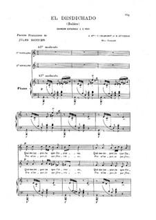 El desdichado: El desdichado by Camille Saint-Saëns
