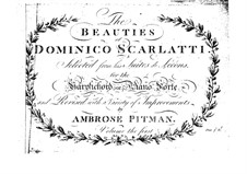Suite de leçons. Six Lessons for Harpsichord (or Piano): Suite de leçons. Six Lessons for Harpsichord (or Piano) by Domenico Scarlatti