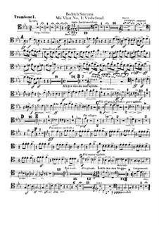 Vyšehrad, T.110: parte de trombones e tubas by Bedřich Smetana