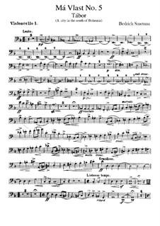Tábor, T.120: parte violoncelo by Bedřich Smetana