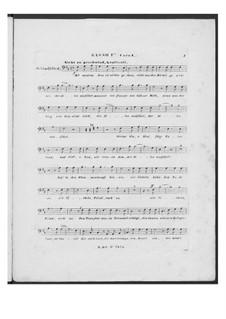 Battle Song for Double Male Choir and Piano (or Harmonium), D.912 Op.151: Bass I part (Choir I) by Franz Schubert