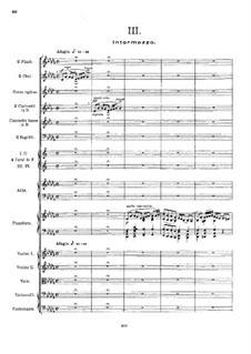 Fantastic Suite for Piano and Orchestra, Op.7: Movimentos III-IV by Ernest Schelling