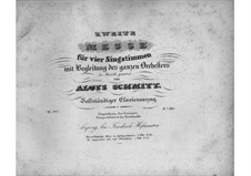 Mass No.2 in D Major, Op.103: Mass No.2 in D Major by Aloys Schmitt