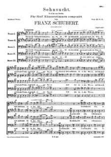 Sehnsucht (Longing), D.656: Sehnsucht (Longing) by Franz Schubert