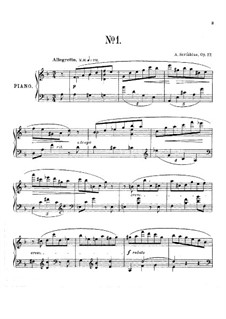 Seven Preludes, Op.17: introdução No.1 by Alexander Scriabin