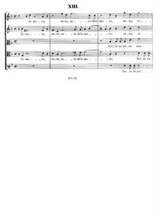 Italian Madrigals, Op.1: No.13 Io moro, eccho ch'io moro, SWV 013 by Heinrich Schütz
