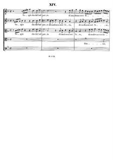 Italian Madrigals, Op.1: No.14 Sospir che del bel petto, SWV 014 by Heinrich Schütz