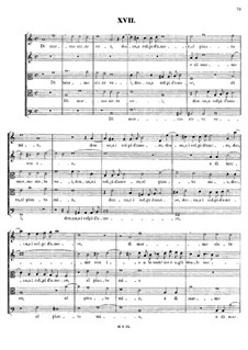 Italian Madrigals, Op.1: No.17 Di marmo siete voi, SWV 017 by Heinrich Schütz