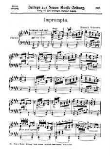 Impromptu: Improviso by Heinrich Schwartz