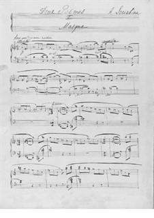 Two Poems, Op.63: No.1 Masque by Alexander Scriabin