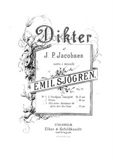 Dröm, Op.22 No.2: Dröm by Emil Sjögren