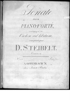 Sonata for Piano in E Flat Major, Op.59: Sonata para piano em E flat maior by Daniel Steibelt