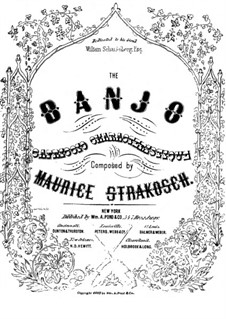 Banjo: Banjo by Maurice Strakosch