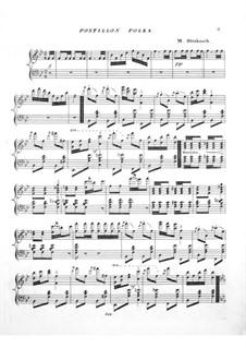Postillion Polka: Postillion Polka by Maurice Strakosch