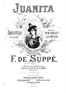 Donna Juanita: Para Piano by Franz von Suppé