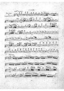 Le concert à la cour: flauta parte I by Daniel Auber