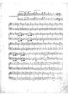 Le concert à la cour: parte Fagotes by Daniel Auber