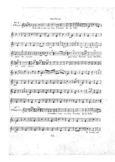 Le concert à la cour: Tambourine and triangle parts by Daniel Auber