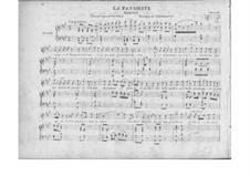 La favorita: Un ange, une femme inconnue, for voice and piano by Gaetano Donizetti