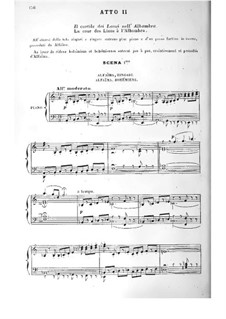 Aben-Hamet: Acts II-IV by Théodore Dubois