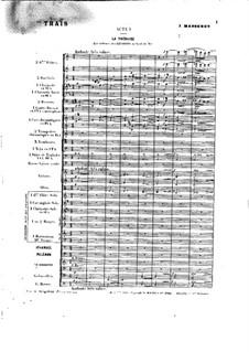 Opera: ato I by Jules Massenet